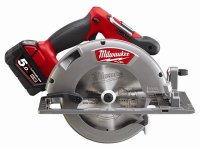 Milwaukee M18 CCS66-502C FUEL™ Circular Saw 18 Volt 2 x 5.0Ah Li-Ion 18V