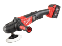 Milwaukee M18 FAP180-502X 180mm Fuel™ Cordless Polisher 18 Volt 2 x 5.0Ah Li-Ion