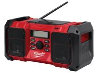 Milwaukee M18 JSRDAB-0 DAB Digital Jobsite Radio 18 Volt Bare Unit