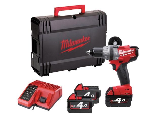 Milwaukee M18 SET14F Fuel™ Combi Kit 18 Volt 3 x 4.0Ah Li-Ion 18V