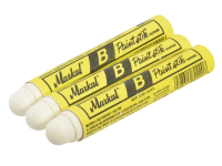 Markal Paintstick Cold Surface Marker White Pack 3