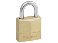 Master Lock Solid Brass 20mm Padlock 3 Pin