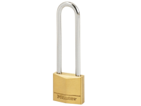 Master Lock Solid Brass 30mm Padlock 4 Pin - 64mm Shackle