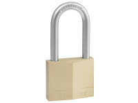 Master Lock Solid Brass 40mm Padlock 4 Pin - 38mm Shackle