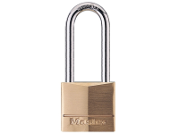 Master Lock Solid Brass 40mm Padlock 4 Pin - 51mm Shackle
