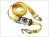 Master Lock Ratchet Tie Down + J Hooks 4.5m