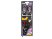 Master Lock Ratchet Tie Down with S Hooks 4.25m  (Pack of 2)