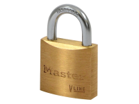 Master Lock V Line Brass 30mm Padlock - Keyed Alike 142