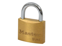 Master Lock V Line Brass 35mm Padlock - Keyed Alike 314