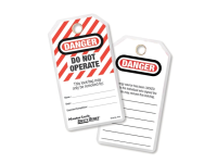 Master Lock Lockout Tags - Do Not Operate (Pack of 12)