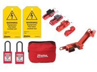 Master Lock Electrical Lockout / Tagout Kit