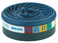 Moldex ABEK1 Gas Filter Cartridge Wrap of 2