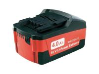 Metabo Slide Battery Pack 18 Volt 4.0Ah Li-Ion 18V