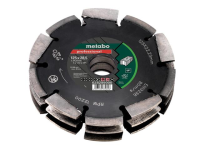 Metabo 3 Row Professional UP Wall Chaser Blade 125 x 28.5 x 22.23mm