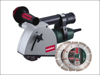 Metabo MFE 30 125mm Diamond Wall Chaser 1400 Watt 110 Volt 110V