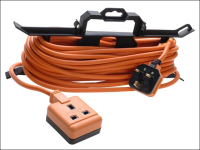 Masterplug Garden Extension Lead 240 Volt on H Frame 15 Metre 240V