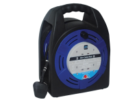 Masterplug Cassette Reel 20 Metre 4 Socket 13A Thermal Cut-Out 240 Volt 240V