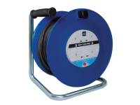 Masterplug Heavy-Duty Cable Reel 50 Metre 4 Socket 13A Thermal Cut-Out 240 Volt 240V
