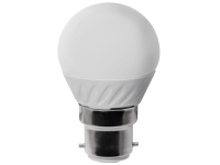 Masterplug LED Mini Globe Bulb B22 Non-Dimmable 3.3 Watt