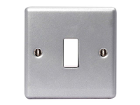 Masterplug Metal Clad 2-Way 1-Gang Light Switch