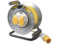 Masterplug PRO XT Metal Cable Reel 30 Metre 16A 110 Volt Thermal Cut-Out