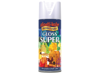 Plasti-kote Super Gloss Spray White 400ml