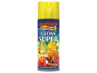Plasti-kote Super Gloss Spray Yellow 400ml
