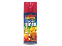 Plasti-kote Super Gloss Spray Bright Red 400ml