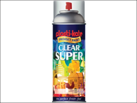 Plasti-kote Super Gloss Spray Clear 400ml