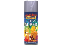 Plasti-kote Super Gloss Spray Aluminium 400ml