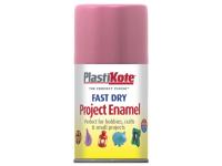Plasti-kote Fast Dry Enamel Aerosol Hot Pink 100ml