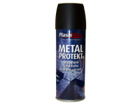 Plasti-kote Metal Protekt Spray Matt Black 400ml