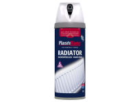 Plasti-kote Radiator Twist & Spray Gloss White 400ml