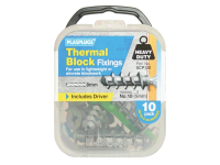 Plasplugs SCP 120 Thermal Block Fixings (10)