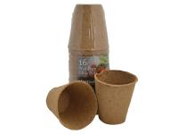 Plantpak PF Fibre Pots Round 8cm (16)