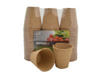 Plantpak PF Fibre Pots Round 8cm Bulk Pack (48)