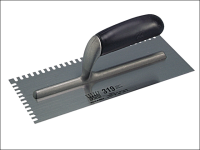 Ragni R319 Mastic Trowel U 4mm Notches Edge Plastic Handle 11in x 4.3/4in