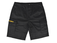 Roughneck Clothing Work Shorts Black Waist 34in