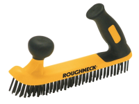 Roughneck Two Handed Wire Brush Soft Grip