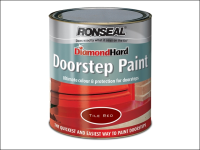 Ronseal Diamond Hard Doorstep Paint Black 750ml