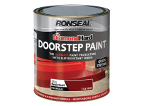 Ronseal Diamond Hard Doorstep Paint Red 250ml