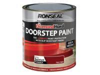 Ronseal Diamond Hard Doorstep Paint Tile Red 750ml