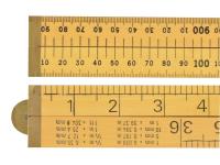R.S.T. Wood 4 Fold Rule 1m / 39in (Loose)