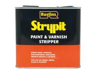 Rustins Strypit Paint & Varnish Stripper New Formulation 2.5 Litre