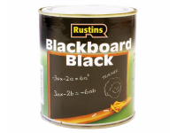 Rustins Quick Dry Blackboard Black 125ml