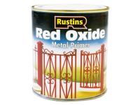 Rustins Red Oxide Metal Primer 1 Litre