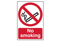 Scan No Smoking  - PVC 200 x 300mm
