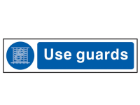 Scan Use Guards - PVC 200 x 50mm