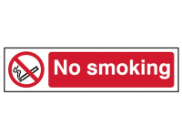 Scan No Smoking - PVC 200 x 50mm