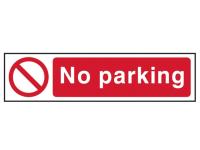 Scan No Parking - PVC 200 x 50mm